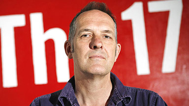 Bill Drummond at the Free Thinking 08 festival in Liverpool